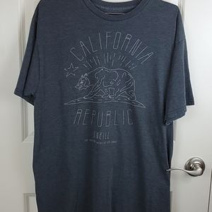 Oneill graphic tee size L